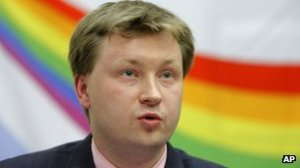 Nikolay Alexeyev has been campaigning for years for the right to stage gay parades in Russia